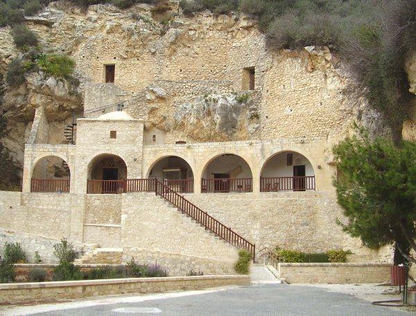 Aigos Neophytos - kláštor Cyprus - Paphos