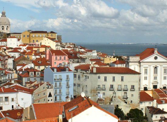 Portugalsko - Lisabon  výhľad na mesto