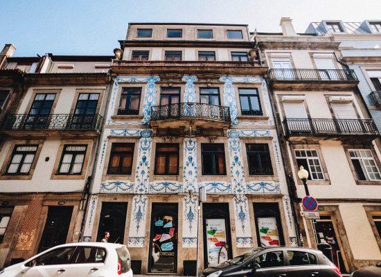 Portugalsko - modré kachličky