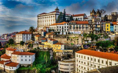 Portugalsko - Porto výhľad na mesto